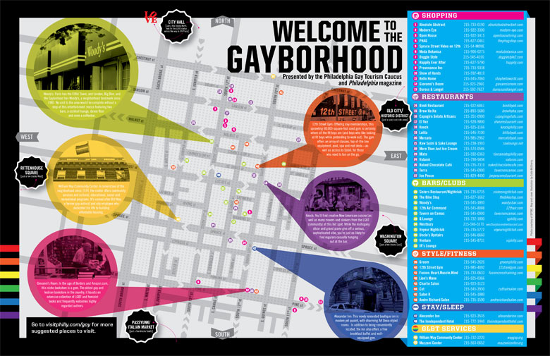 LGBT Philadelphia Maps and Downloads Visit Philadelphia – Philadelphia Tourist Map